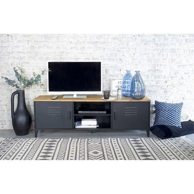 Meuble Tv Hiba Meuble Tv Mobilier De Salon La Redoute Interieurs