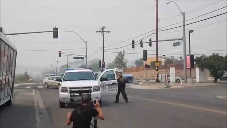 Black Man Vs. White Man OPEN CARRYING AR-15 LEGALLY
