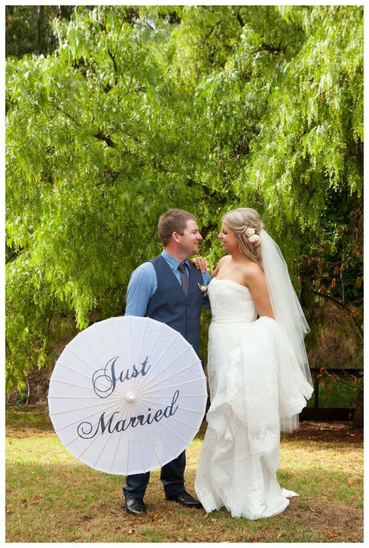 Just married! The lovely and relaxed, Krystal and Nathan. Congratulations!