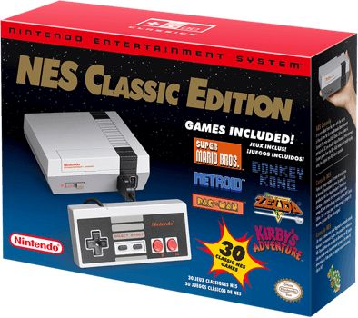 NES Classic Edition box I need one!