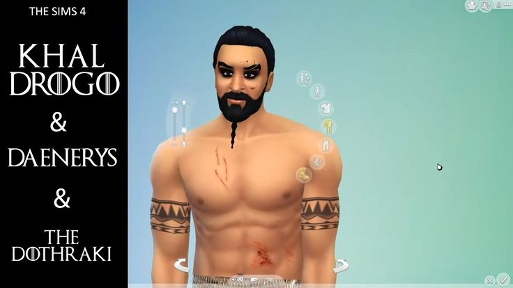 Drogo, Daenerys and the Dothraki Character Build (TheSims4)