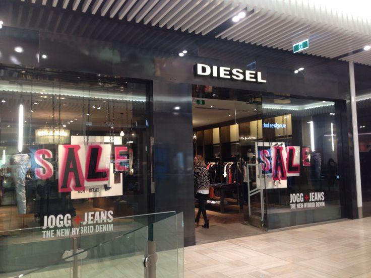 Diesel shop front