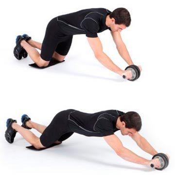 Como usar la rueda abdominal #fitness #rueda #abdominales