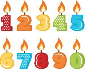 espelmes aniversari #scrapbook