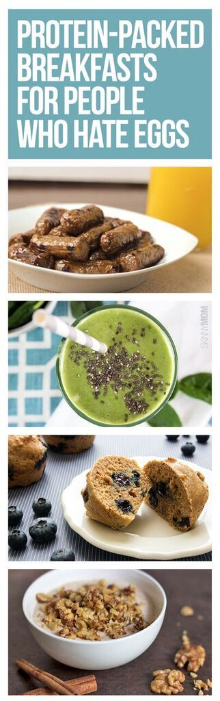 10 high protein, healthy breakfast recipes!