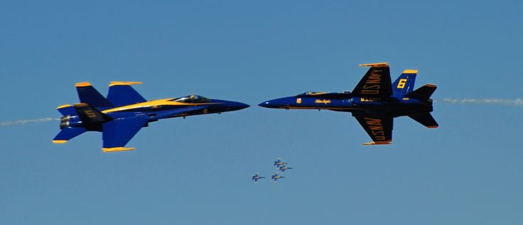 Great shot of the Blue Angles by Bill Fortney