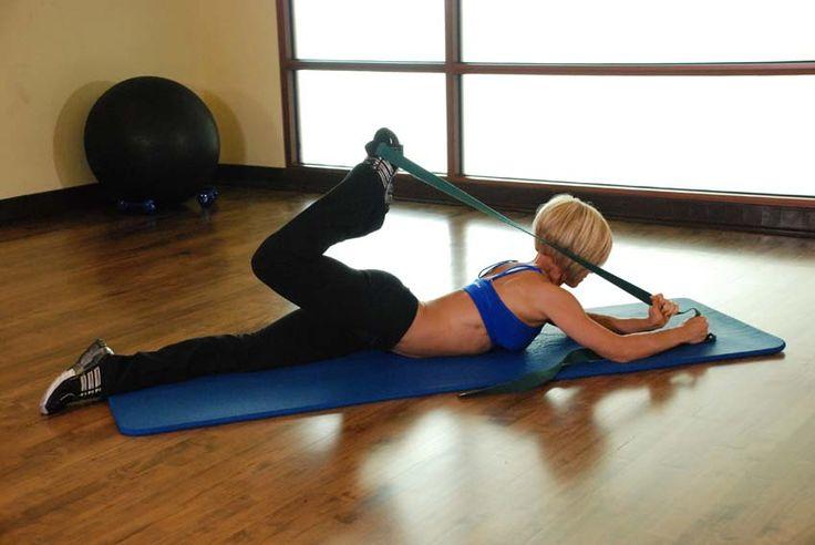 Effective Hip Flexor Stretch: Intermediate Hip Flexor and Quad Stretch Images