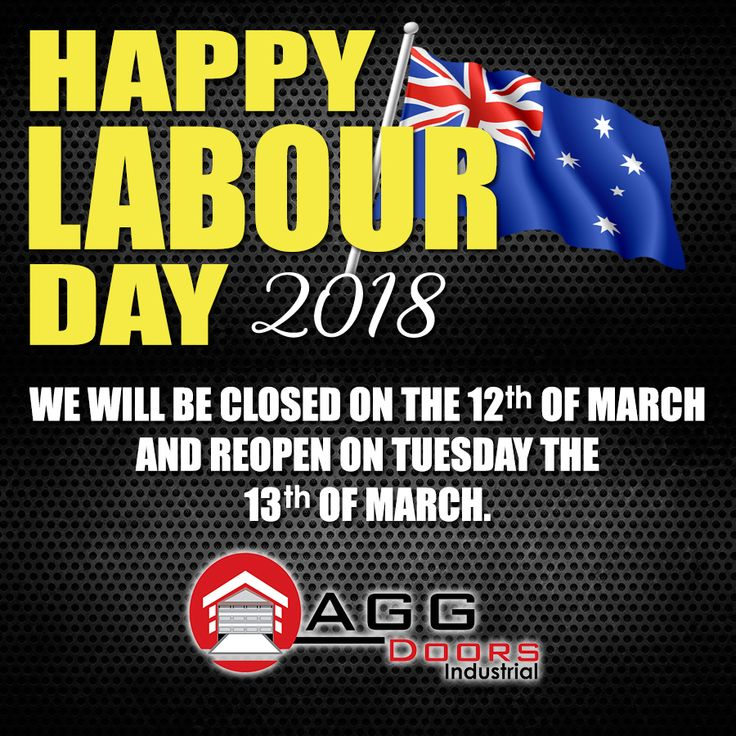 In line with AU Labour Day Celebration 2018, the AGG Doors Industrial will be closed on 12th of March and resume the office time on Tuesday March 13, 2018.   #AULabourDay2018 #AGGDoorsIndustrial