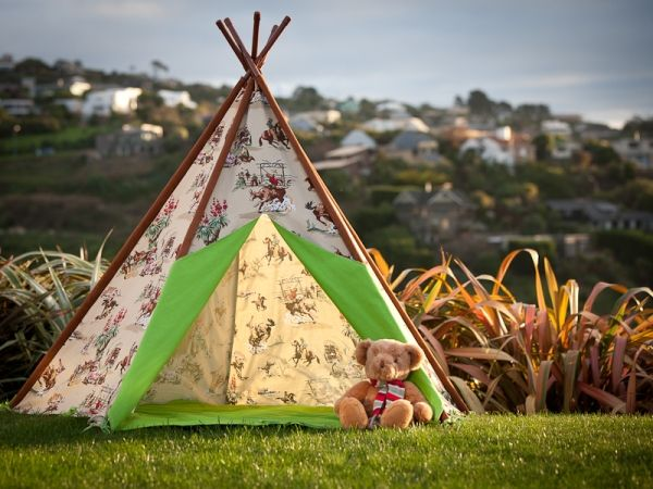 Cowboy Teepee- this is what Max is getting for his 1st birthday!