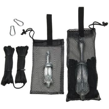 Great anchors for kayaks and canoes. 50 ft Anchor line and 2 carabiners included for  sc 1 st  Pinterest : boat anchor storage bag  - Aquiesqueretaro.Com