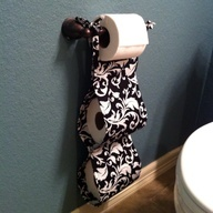 Toilet paper roll holder in beach/tropical theme  CLAIMED - THANK YOU BABALINA58!