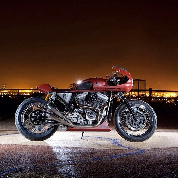 1000+ Images About Cafe Racer Harley Davidson On Pinterest