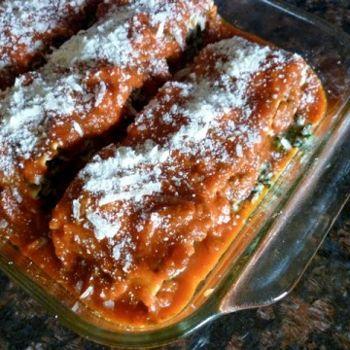 Weight Watchers Healthy Beef & Spinach Lasagna Rolls
