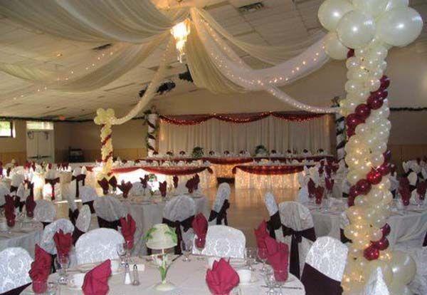 reception decorating on a budget Wedding Reception