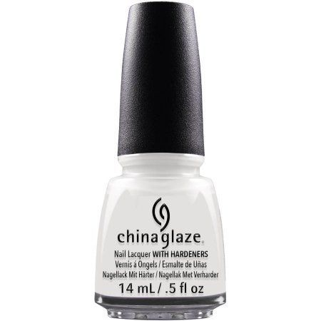 China Glaze Nail Lacquer White On White, 0.5 fl oz