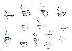 Mouths; How to Draw Manga/Anime