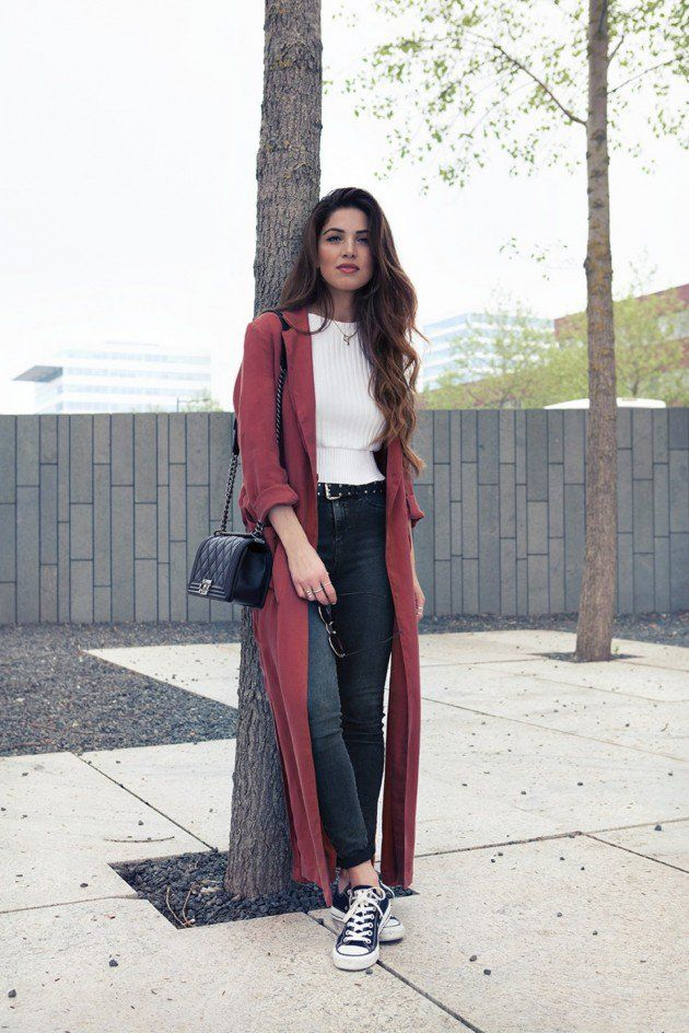 Pinterest: eighthhorcruxx. CASUAL AND CHIC OUTFITS WITH SNEAKERS