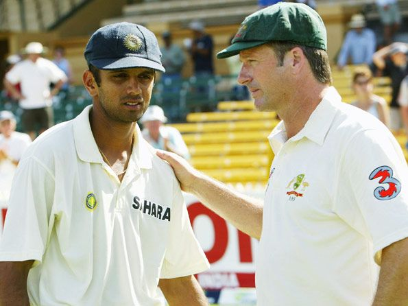 #SteveWaugh was an inspiration to #RahulDravid : Bangalore: Mar 21, 2012     Rahul Dravid today said former Australian captain Steve Waugh was his role model and he used to imitate his mannerism to get into the right frame of mind.