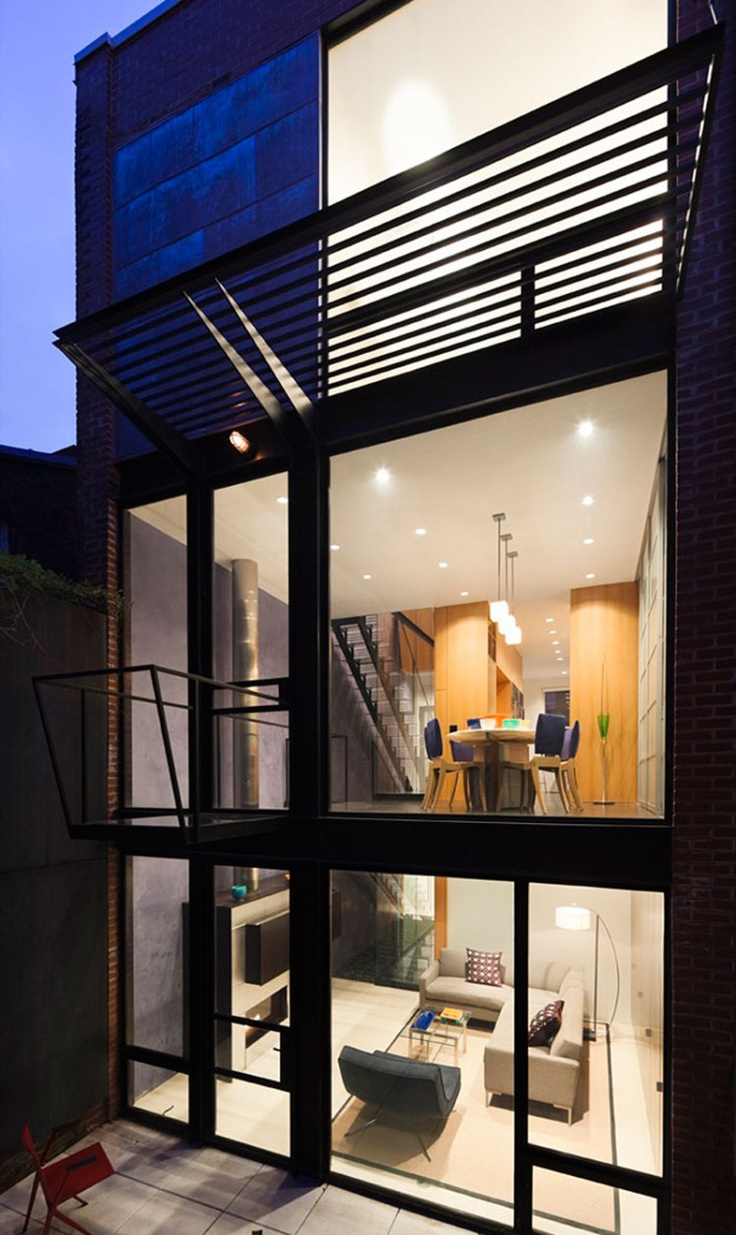 Washington DC Based Architectural Firm Robert Gurney Architect Has Created The Lorber Tarler Residence This Old Row House Was Built Around Turn Of
