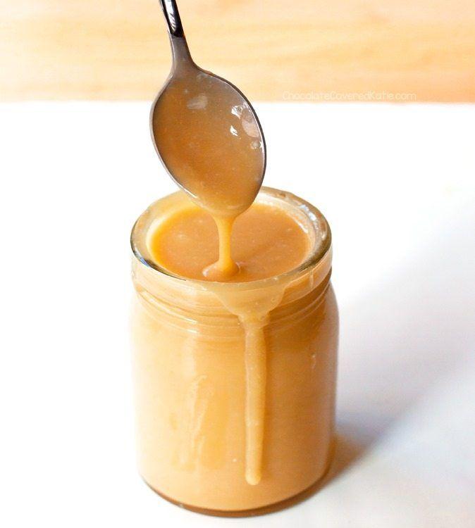Coconut Caramel - How To Turn Coconut Milk Into Caramel