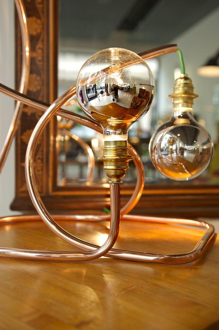 #copper #lamp #tube