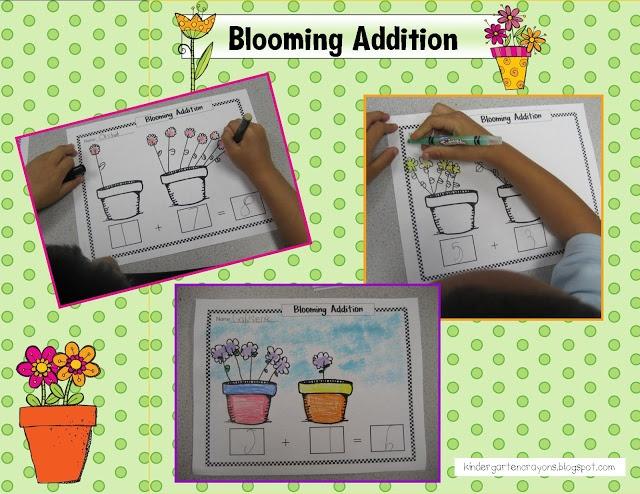 Kindergarten Crayons: addition