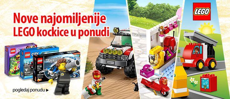 Lego kockice podstiču kreativnost i razvijaju inteligenciju! Za malu decu i odrasle koji su deca u duši! #LEGO #kocke #igračke #super #akcija #popust #online #shopping #kupovina #onlineshopping #srbija #beograd #deca #roditelj #kids #good #parenting