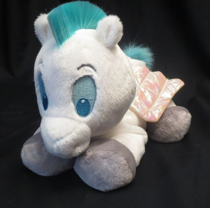 "Pegasus Disney Store Hercules Floppy 12"" Plush Stuffed Animal. too cute"