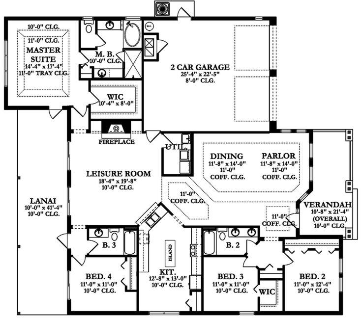 439 best Plans maison images on Pinterest Floor plans, Home plants