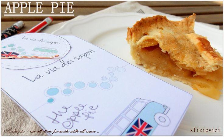 Sfizi & Vizi: The English Apple Pie - La torta di mele come piac...