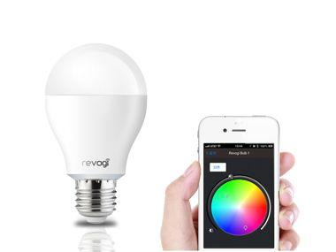 Revogi smartphone control color changing smart bulb