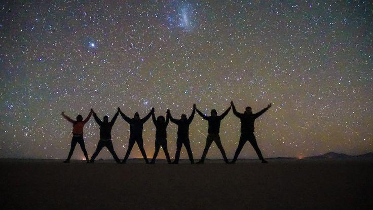 Bolivian Salt Flats Night