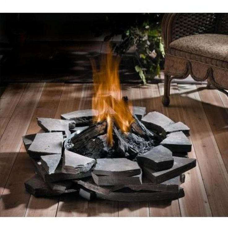 Image for Propane Fire Tables For Decks Deck Fire Pits Propane | Deck Design And Ideas