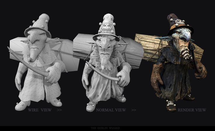 GGSCHOOL, Designer 김정미, Student Portfolio for game, 3D Character Design, www.ggschool.co.kr