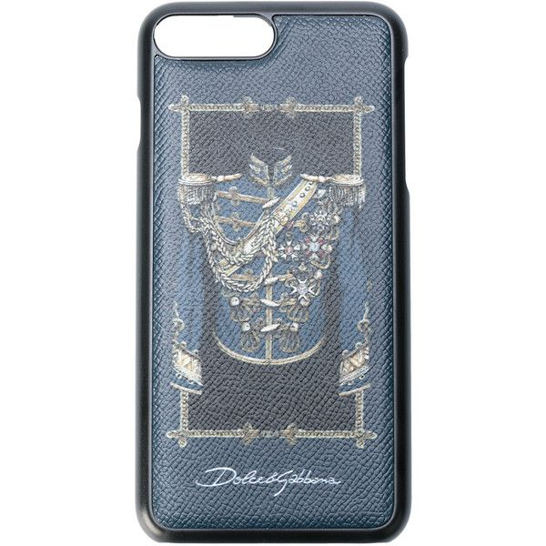 Dolce & Gabbana soldier print iPhone 7 Plus case ($175) ❤ liked on Polyvore featuring men's fashion, men's accessories, men's tech accessories and black