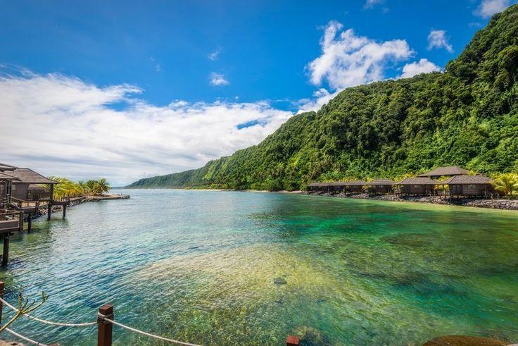 Dlouhé pláže, krásná příroda a příjemné zázemí – na ostrově Upolu je krásně.