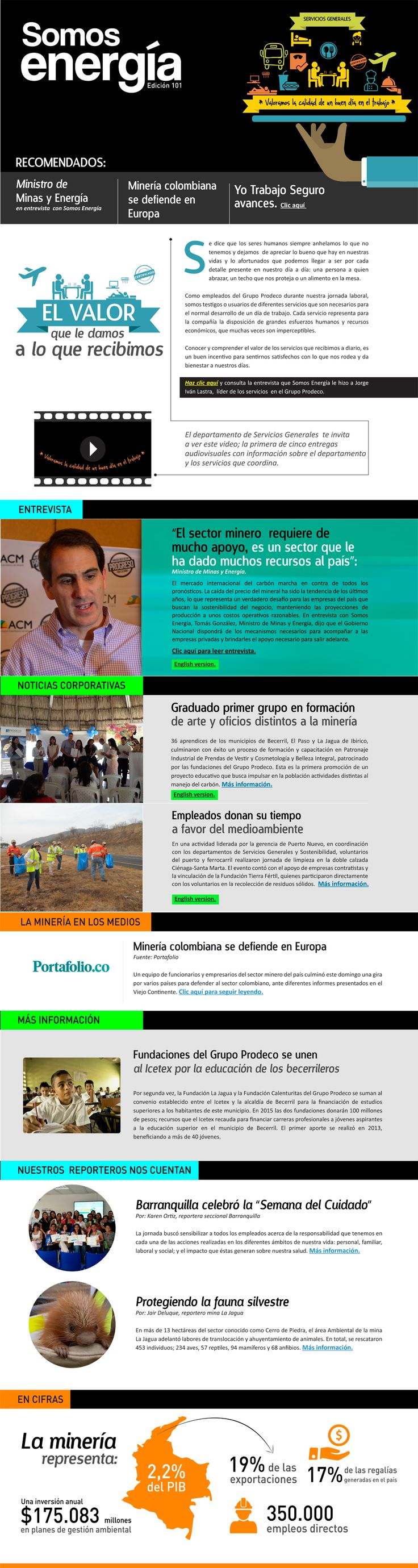 Edición No. 101 #boletin #news #enews #diagramacion #diseño