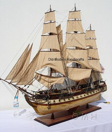 1797 USS Constitution XL Old Ironsides  Scaled Model