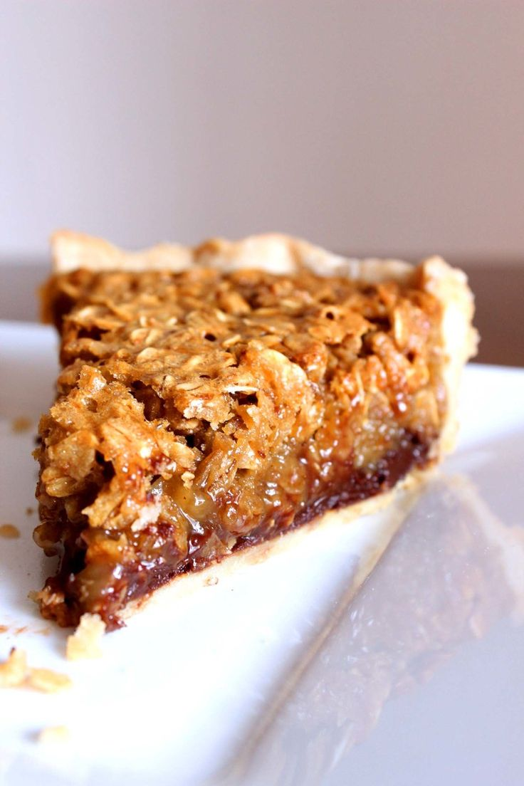 Black Bottom Oatmeal Pie   Four and Twenty Blackbirds ( must try this!!)