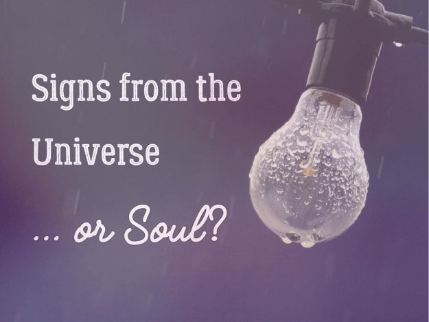 [Blog post] Signs from the Universe or Soul? Now I know that I am the creator of my experience, my universe. My soul self is the one reminding me that all is well with those numbers, or maybe a feather, a curious bird, or other sign.Read full article...