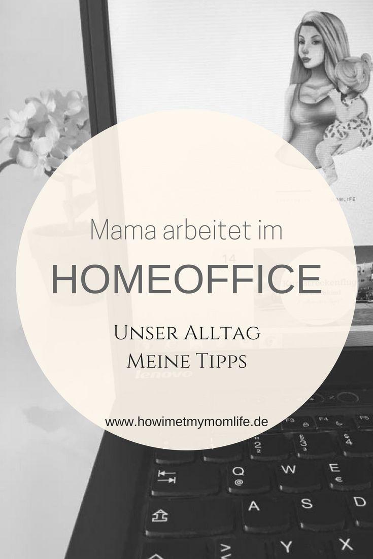 Mama arbeitet im Home Office. Vereinbarkeit von Beruf und Familie ist im Home Office einerseits leicht und andererseits wirklich schwer. Ich erzähle euch aus unserem Alltag und gebe 5 Tipps wie das Arbeiten im Home Office besser klappt!