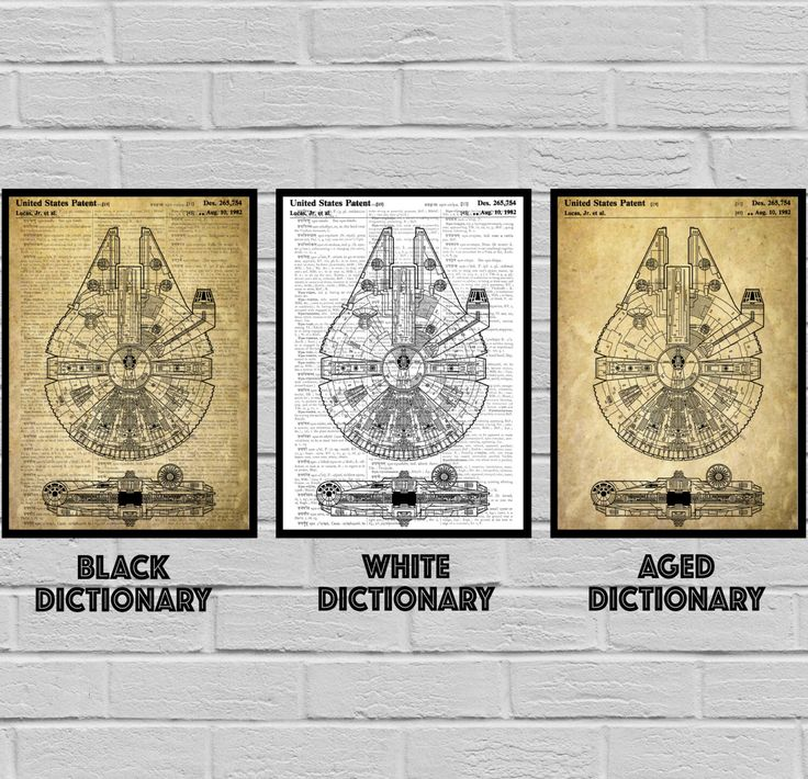 Star Wars, Millennium Falcon Star Wars Poster, Millennium Falcon Star Wars Patent, Millennium Falcon Star Wars Print, Millennium Falcon by STANLEYprintHOUSE on Etsy https://www.etsy.com/listing/494903497/star-wars-millennium-falcon-star-wars
