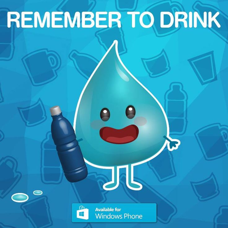Got a windows phone? REMEMBER TO DRINK! water, of course smile emoticon Download it here: http://goo.gl/0yxQPO