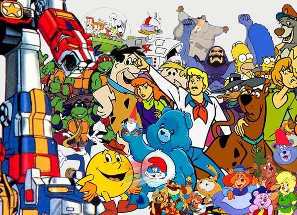 1980 S Cartoon Characters : Cartoon collage s random stuff pinterest