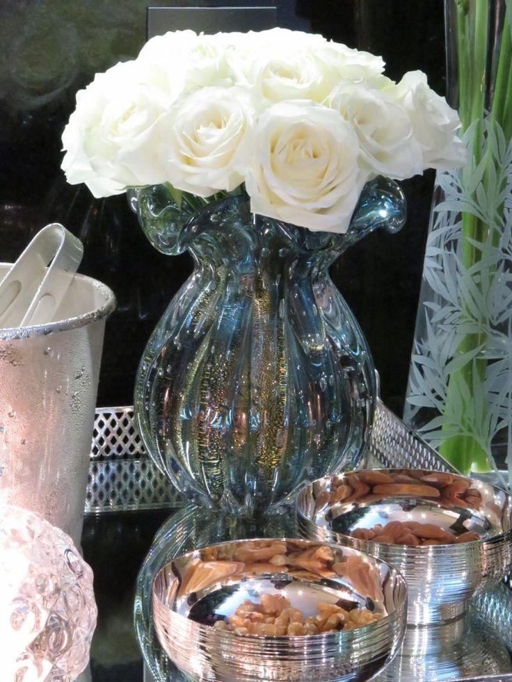 vasos de murano na decoração | Chez Marina