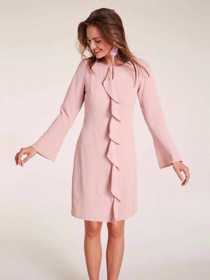 heine TIMELESS Kleid mit Volants für 69,99€. Im angesagten Look,  Figurumspielende 796eefcd33