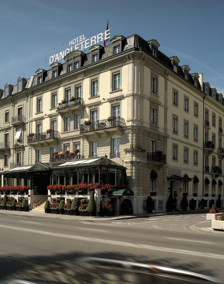 #Hoteld'Angleterre #UniqueSleeps #Luxury #Switzerland #Geneva