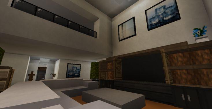 30++ Minecraft living room modern info