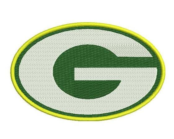 """Green Bay Packers embroidery designs. Green Bay Packers Logo. Formats: CSD, DST, EXP, HUS, JEF, PES, SHV, VIP, XXX, VP3,   Sizes: 2.78x1.77"""", 4.16x2.65"""", 6.63x4.22"""".  Price 2.50$   Contacts: provokator04@rambler.ru"""