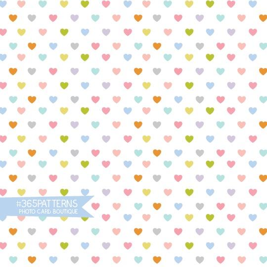 365 Patterns - Heavy Hearts